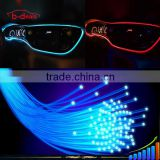 12V super bright RGB color changing Car Interior Accent Lighting 3MM fiber atmosphere decoration light