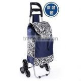 2014 wholesale Foldable Oxford Shopping Trolley Bag With Chair