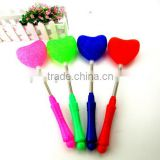 Heart Shape Electronic Glowing Sticks LED Light Heart Style Toy Flashing Rods Children's Festival Toy Favors