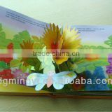 Customized Printed Pop Up Reading Book