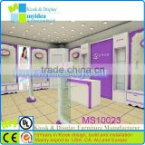 Shopping mall led clothing store furniture high quality furniture for shoe store free design