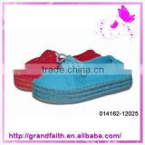 2014 Hot selling custom winter canvas shoes