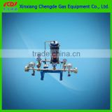 lpg gas regulator with pressure meter