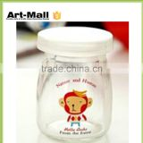 hot new products for 2016 small glass jars with lids