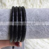 lizard/crocodile/stingray/python leather cord for bracelet