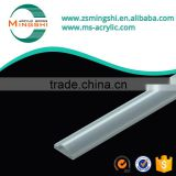 LED lighting diffuser plastic extrusion linear lens