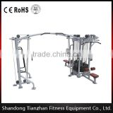 5 Multi-Station Fitness Equipment TZ-4009 Cable Jungle Commercial Use Machine                                                                         Quality Choice