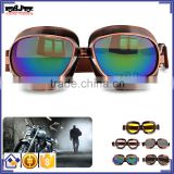 BJ-GT-013 Frame Copper Frame racing UV Lens goggles racing goggles glasses motorcycle googles for Harley