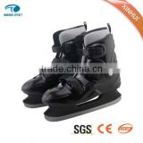 2015 HOT SALE and upscale special Fixed size ice skating shoes for ice rink rental & Ice hockey Skates