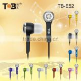hot new product for 2015 glowing stereo in-ear earphone for mobile pc portable media device