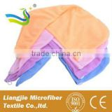 reactive printing micro fibre hair towel hair drying cap hand embroidery designs