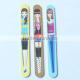 Decorative Beautiful Girl Round Nail File