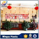 Alusign cheap interior the lowest price lightweight interior wall panel building materials for restaurant