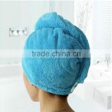Wholesale quick dry high absorbent microfiber hair towel