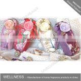 flower potpourri bag with colorful ribbon silk tied                                                                         Quality Choice