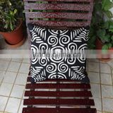 Applique Work Cushion Cover , Indian Hand Cutwork Cushion,Traditional Cotton Cushion covers,