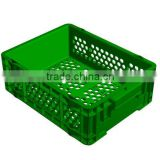 Micro DCH 519 Semi Solid Plastic Stacking Crate / Solid plastic container / Industrial plastic crate