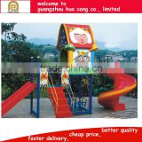 Attractive kids toys top sell Bright-colored animal theme kids outdoor playground H30-1442