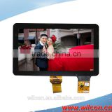 10.1inch 1000nits 1024*600 RGB interface high brightness lcd with touch screen for outdoor use