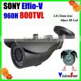 CCTV Security Camera System Sony Effio-V CXD4140GG 800TVL OSD Menu Weatherproof Outdoor Using IR Camera Vision Star