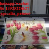 wide format inkjet canvas roll printer flat and roll canvas uv printer
