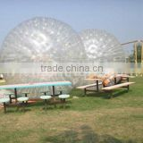 inflatable tumbleweed ball/ inflatable body bumper zorb ball for adults