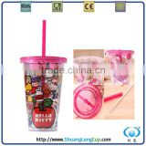 plastic mason jars wholesale double wall travel mug,clear plastic travel mug wholesale