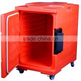 Hot insulation food container food warm box mobil restaurant equipment