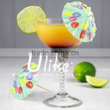 Carnival Time paper cocktails stick umbrellas for wedding table decoration                                                                         Quality Choice