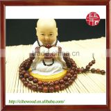 6mm Religious Products Red Sandalwood Beaded Bracelet 108 Beads Male and Female
