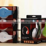 Big earpad high qulity sport bluetooth headphone Wireless Foldable Folding v4.0 bluetooth headphone sd card