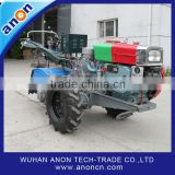 ANON Electric Starting Two Wheel Hand Tiller Rice Paddy Tractor