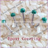 Wholesale Body Piercing Jewelry High Polish Stainless Steel Fashion Labret Jewelry [FC-961B]