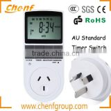 Hot Sell Programmable Digital Timer Switch Socket AC Electric Power Timer switch