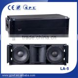 SPE audio dual 10inch passive line array speaker, professional audio system, outdoor performance