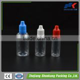 Soft squeeze e liquid 30ml clear pet plastic material dropper bottle with dropper for e-cig /eliquid/e liquid bottle