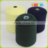 Wool acrylic nylon blend dralon Loop yarn for knitting