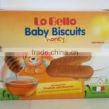 LO BELLO Baby Biscuits Honey