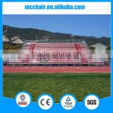 MC-PLR01court use outdoor metal structure aluminium bleacher,open air stadium seating,aluminium stadium seating