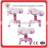 SY-R035 Hot Sale Hospital Deluxe Baby Trolley