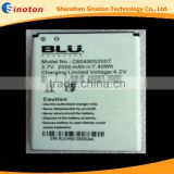 High Capacity Lithium ion Rechargeable Phone Battery C604905200T For BLU