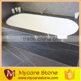 Pietra Grey marble bathtub tile and floor tile polished