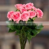 latex real touch rose flower making cake decorating birthday party decorations