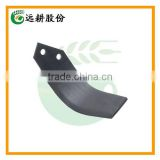 65mn spring steel Tractor Matched Cultivator Blades For Double-drive Fixed Rotary Tiller