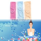 Female Yoga Hair Band Comfortable Head Belt Makeup Cosmetic Shower Wash Face Sports Adjustable Headband Random Color Delivery