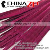 Best Supplier ZPDECOR Factory Bulk Sale Bleached Colored Burgundy Ringneck Pheasant Tail Feathers for Sale