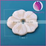 Large size shell flower 45*45mm / shell pendant charms