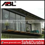304/316 Building material for project stainless steel glass railing glass balustrade glass handrail