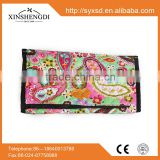 RE122 Hot Sale Flower Printed 100% quilted cotton needle case