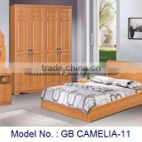 Modern Bedroom Set In MDF Include Bed Night Stand Dresser Wardrobe, wooden bedroom set, bedroom suite furniture, cheap furniture